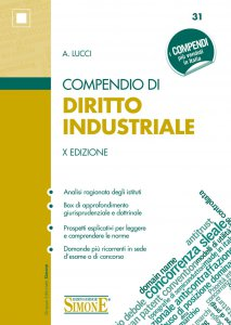 Copertina di 'Compendio di Diritto Industriale'
