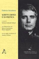 Scritti critici e di poetica - Incardona Federico