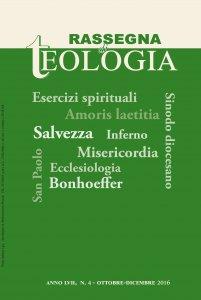 Rassegna di Teologia 2016 - n. 4