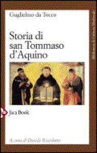 Copertina di 'Storia di Tommaso d'Aquino'