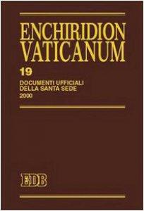 Copertina di 'Enchiridion Vaticanum. 19'