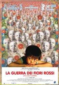 Copertina di 'La guerra dei fiori rossi'