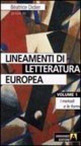 Copertina di 'Lineamenti di letteratura europea'
