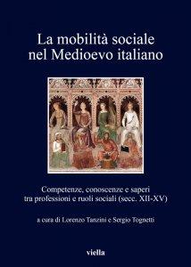 Copertina di 'La mobilità sociale nel Medioevo italiano 1'
