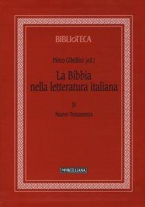 Copertina di 'La Bibbia nella letteratura italiana. Vol. IV'