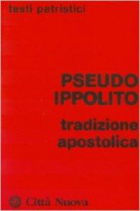 Copertina di 'Tradizione apostolica'
