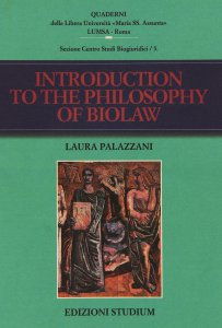 Copertina di 'Introuction to the philosophy of biolaw'