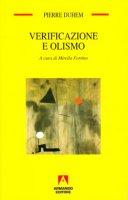 Verificazione e olismo - Duhem Pierre