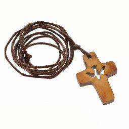 Copertina di 'Croce con colomba intagliata'