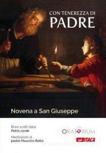 Copertina di 'Con tenerezza di padre. Novena a San Giuseppe'