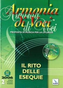 Copertina di 'Armonia di voci (2006). Con CD Audio'