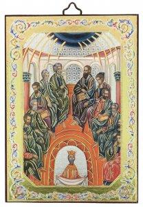 Copertina di 'Regalo Cresima: Icona Pentecoste - 10 x 14 cm'