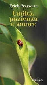 Copertina di 'Umiltà, pazienza e amore'