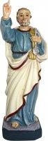 Statua San Pietro da 12 cm in confezione regalo con immaginetta di  su LibreriadelSanto.it