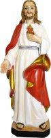 Statua Sacro Cuore di Gesù da 12 cm in confezione regalo con immaginetta di  su LibreriadelSanto.it
