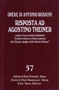 Copertina di 'Opere / Risposta ad Agostino Theiner'