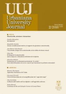 Copertina di 'Urbaniana University Journal. Euntes Docete LXIX/2 2016: Focus - Misericordia, missione e formazione'