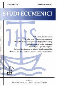 Copertina di 'Studi Ecumenici'