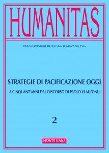 Copertina di 'Humanitas. 2/2016: Strategie di pacificazione oggi'