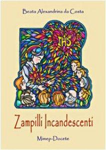 Copertina di 'Zampilli incandescenti. Alexandrina mediatrice'