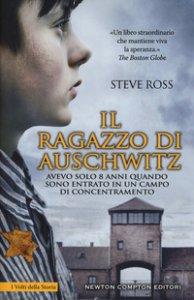 Copertina di 'Il ragazzo di Auschwitz'
