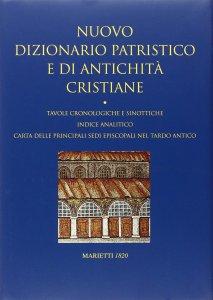 Copertina di 'Nuovo dizionario patristico e di antichità'