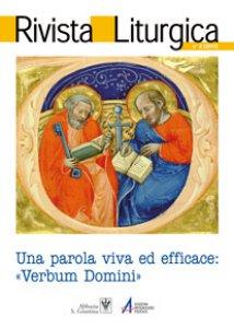 Copertina di 'Liturgia, luogo privilegiato della parola di Dio.'