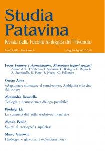Studia Patavina 2016/2