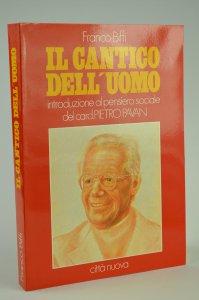 Copertina di 'Il cantico dell'uomo: introduzione al pensiero sociale del card. Pietro Pavan'