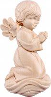 Angelo Pitti in preghiera - Demetz - Deur - Statua in legno dipinta a mano. Altezza pari a 10 cm.
