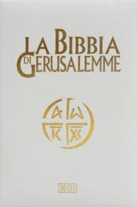 Copertina di 'La Bibbia di Gerusalemme (copertina cartonata similpelle color avorio)'