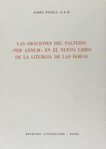 Copertina di 'Las oraciones del salterio «Per annum» en el nuevo libro de la liturgia de las horas'