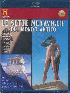 Copertina di 'Le sette meraviglie del mondo antico Blu-ray Disc'
