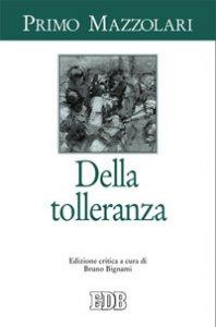 Copertina di 'Della tolleranza'