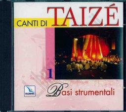 Copertina di 'Canti di Taizé. Vol. 1: Basi strumentali. Cd audio.'