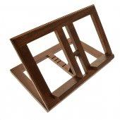Leggio in legno scuro stile moderno - dimensioni 21x31 cm