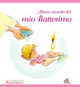 Copertina di 'Album ricordo del mio battesimo. Rosa. Con CD'