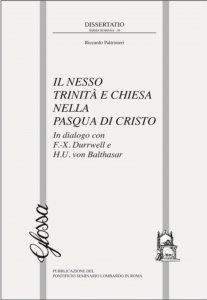 Copertina di 'Il nesso Trinità e Chiesa nella Pasqua di Cristo'