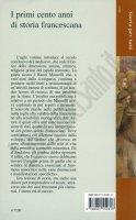 Immagine di 'I primi cento anni di storia francescana'
