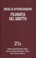 Filosofia del diritto. 27a - Antonio Rosmini