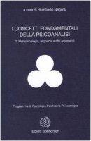 I concetti fondamentali della psicoanalisi - Nagera Humberto