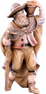 Copertina di 'Pastore con frutta H.K. - Demetz - Deur - Statua in legno dipinta a mano. Altezza pari a 11 cm.'