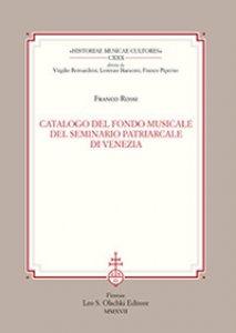 Copertina di 'Catalogo del fondo musicale del Seminario Patriarcale di Venezia'
