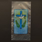 Immagine di 'Buste porta ulivo per la domenica delle Palme - Croce e colomba (200 pezzi)'