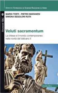 Copertina di 'Veluti sacramentum'