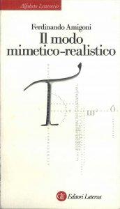 Copertina di 'Il modo mimetico-realistico'