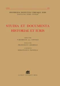 Studia et Documenta Historiae et Iuris 2013/1