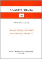 Salvaci, Dio dell'universo! Studio dell'eucologia di Sir 36H,1-17 - Palmisano M. Carmela
