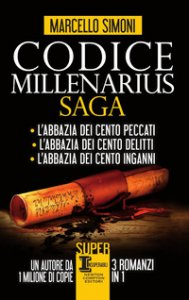 Copertina di 'Codice Millenarius saga: L'abbazia dei cento peccati-L'abbazia dei cento delitti-L'abbazia dei cento inganni'