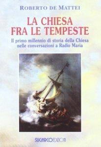 Copertina di 'La Chiesa tra le tempeste'